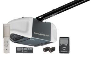 Chamberlain 3/4 HP Ultra Quiet Belt Drive.