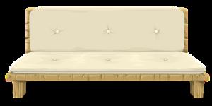 Graphic representation of a futon.