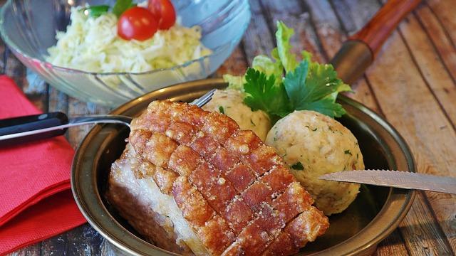 Pork butt dish on a plate.