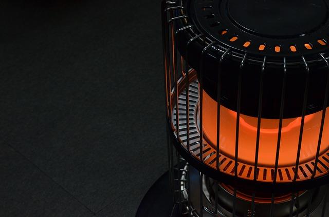 Propane heater.