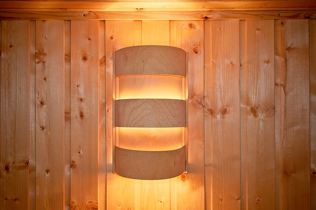 Sauna light.