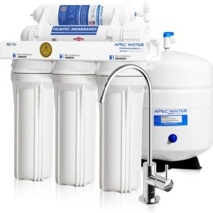 best reverse osmosis system: APEC RO-90.