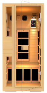 Best Infrared Sauna: JNH Lifestyles ENSI Collection 1 Person.