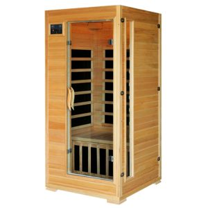 Radiant Saunas 1-2 Person Hemlock.