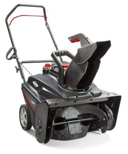 "Briggs & Stratton 1696737 Single Stage Snow Thrower with 208cc Engine, 22""."
