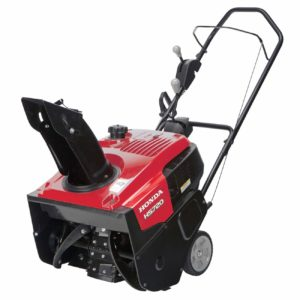 Honda Power Equipment 187cc Single-Stage Snow Blower.