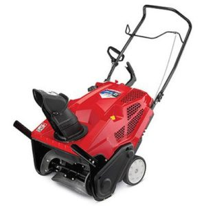 Troy-Bilt Squall 2100 208cc Single-Stage Gas Snow Thrower.