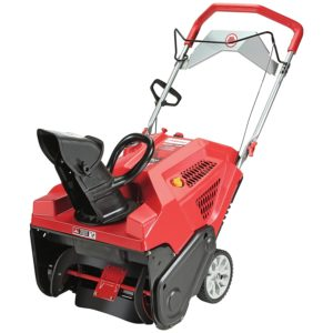 Troy-Bilt Squall 208cc Electric Start 21-Inch Single Stage Gas Snow Thrower.