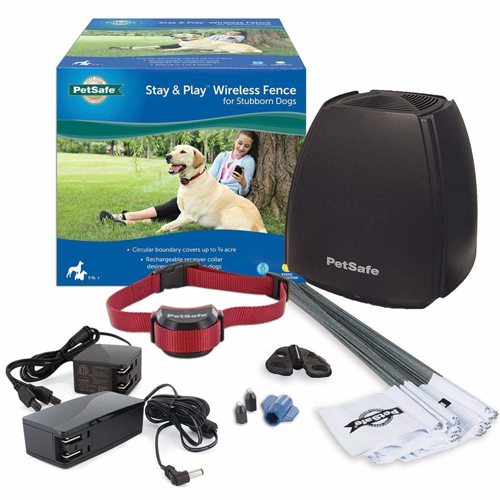 Best wireless dog fence - PetSafe Stay & Play.