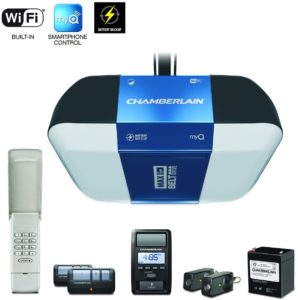 best wifi garage door opener: Chamberlain ultra-quiet.
