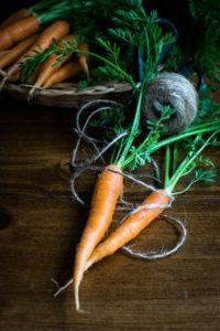 Thin carrots.