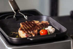 Electric griddle.