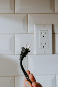 Plug and outlet.